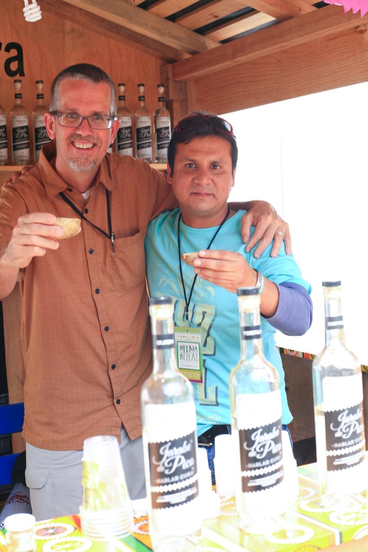 Dave Miller, Albert Carballo, Jarabe de Pico, mezcal, Feria del Mezcal